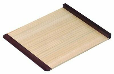 Japanese SOBA noodle cutting support tool plate Rosewood frame (large) JPN #yz9