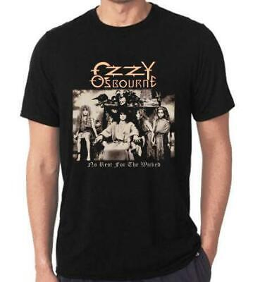 Ozzy Osbourne No Rest For The Wicked Tee Usa Size T-Shirt S M L Xl 2Xl 3Xl