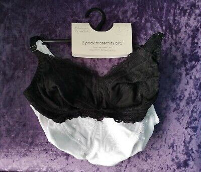 Brand New Pack Of 2 Nursing Bras From Blooming Marvellous Size 36D