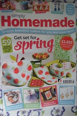 SIMPLY HOMEMADE MAGAZINE Issue 28 projects include  tea cosy
