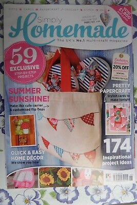 SIMPLY HOMEMADE MAGAZINE Issue 46 projects include jersey toys