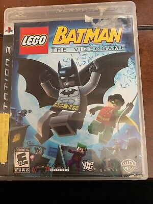 LEGO Batman For PS3 The Videogame Sony PlayStation 3 Complete With Manuel