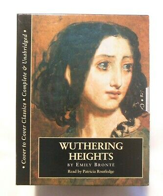 Wuthering Heights Complete & Unabridged 10 cassettes Read by Patricia Routledge