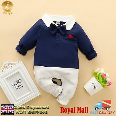 Baby Boys Girls Spanish Knitted Romper All in One Blue White /& Hat 0-3 3-6 6-12m