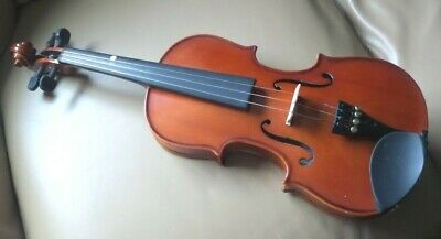 Stentor ST student violin 3/4 size with bow, rosin, shoulder rest, spare strings