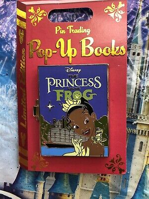 Disney Trading Pin of the Month Pop Up Book Tiana Princess & The Frog LE 4000
