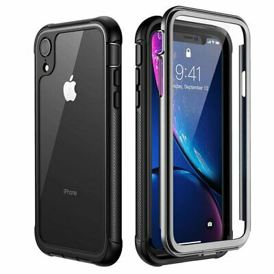 For iPhone 11 Pro XS XR X Max 7 8 Plus Case Cover Full Body with Built-in Screen