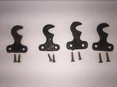 Singer Treadle Sewing Machine Cabinet Drawer Mounting Brackets With Screws