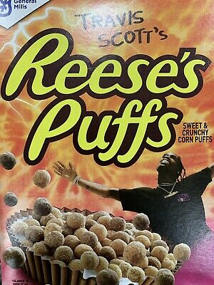 *SOLD OUT* Travis Scott x Reese's Puffs Cereal! Brand New - 12 SEALED BOXES!