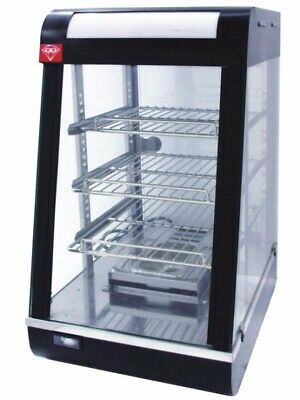 2019 High Quality Commercial Hot Food Pie Chicken Warmer Display Showcase MD
