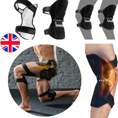 2x Patella Booster 4 Spring Knee Brace Support for Mountaineering Squat Sports