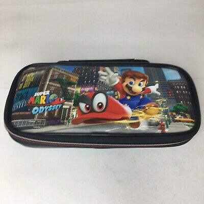 Officially Licensed Nintendo Switch Super Mario Odyssey Game Travel Case