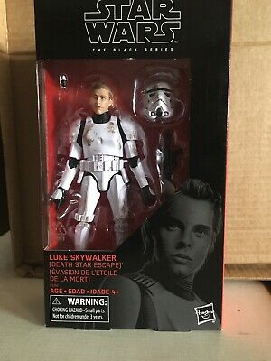 Star Wars Black Series Target Luke Skywalker Death Star Escape Stormtrooper