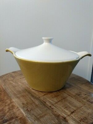 Vintage Mid Century Modern  Covered Casserole Dish