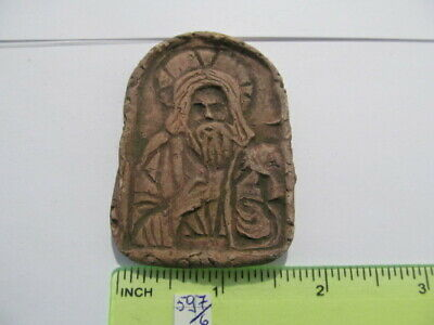 Ancient Ceramic icon with Holy 13-15th century № 597/6