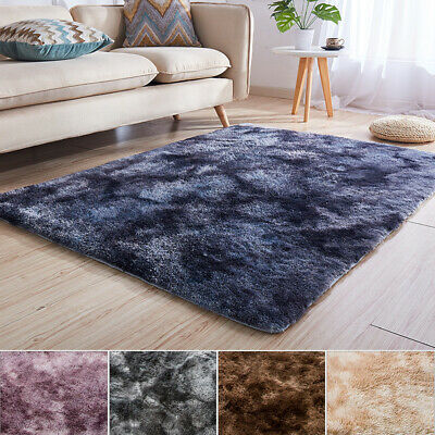 Large Carpet Fluffy Rugs Anti-Skid Shaggy Area Rug Bedroom Dining Room Floor Mat