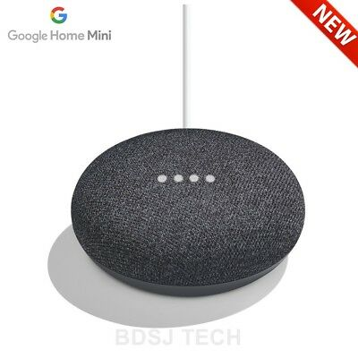 Google Home Mini with Google Assistant Voice Enabled - US Warranty - CHARCOAL