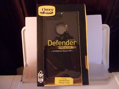 New OtterBox Defender For Apple iPhone 7 PLUS & iPhone 8 PLUS Case Black