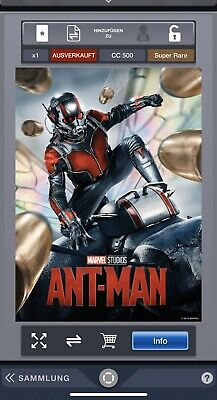 Topps Marvel Collect Digital App The First 10 Years Ant-Man Poster