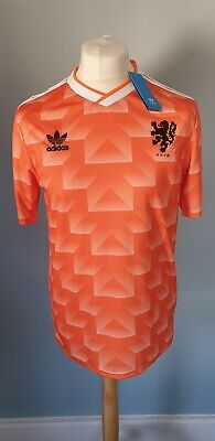 Netherlands/Holland EURO 88 Shirt. Retro Replica. HOME. ADIDAS. BNWT. Medium.