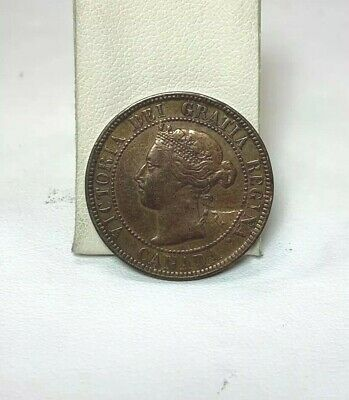 1897 Canada Large One Cent Penny Nice Coin