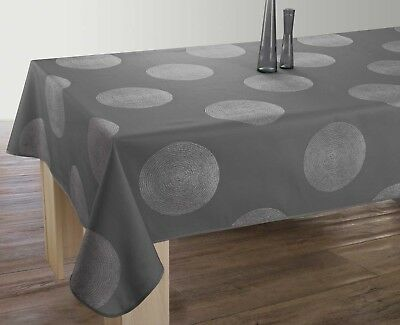 Nappe anti-taches Cercles anthracite