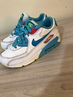 Nike Air Max 90 Older Girls Trainers UK Size 1