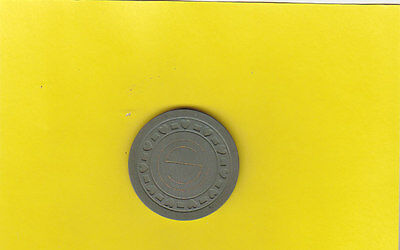 Illegal Casino Club Chip (.50) Colley Sheppard Jeffersonville Indiana FREE SHIP