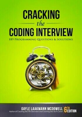 Cracking the Coding Interview 189 Programming Questions 6th Edition