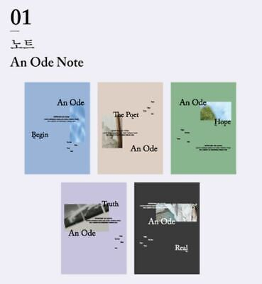 SEVENTEEN 3RD ALBUM An Ode CONCEPT ZONE OFFICIAL GOODS NOTE NOTEBOOK SEALED