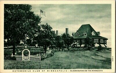 1940'S. Auto Club Of Minneapolis. Minnesota. Postcard Sl4