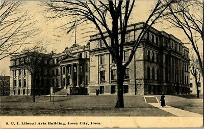 1911. S.u.i. Liberal Arts Bldg. Iowa City, Iowa. Postcard Sl4