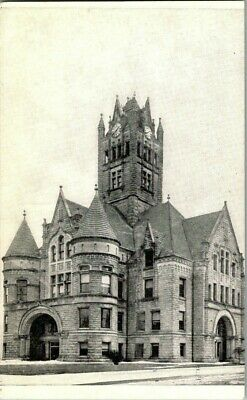 Early 1900'S. Court House. Greenfield, Indiana. Postcard Sl10