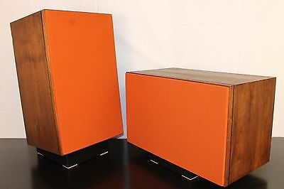 Two New JBL L-100 Burnt Orange Grille Grille Inserts Huntley Audio Reproduction