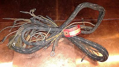 NOS!!! OEM FORD Cloth Wiring Harness for 1940 Ford Pickup Truck Dash on