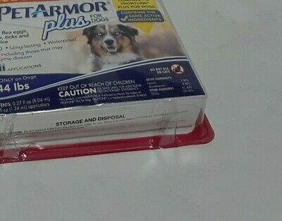 PETARMOR Plus for Dogs, Flea & Tick Prevention for Large Dogs  6 month supply