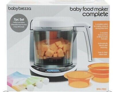 Baby Brezza One Step Deluxe Baby Food Maker, Brand New