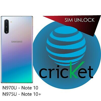 * 2 Minutes * Galaxy Note 10 10+ ATT cricKet Xfinity Spectrum Unlock Service
