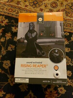 Rising From The Grave Reaper Zombie Spirit Halloween Scary Prop Animated Talks
