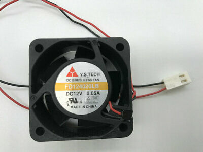 For Y.S.TECH FD124020LB 4020 4cm 40mm DC 12V0.05A ultra-quiet Silent cooling fan