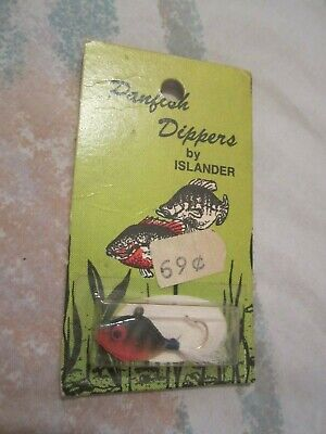 VINTAGE Fishing Lure from Horseshoe Island ,Clay,NY nice little lure