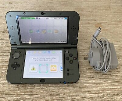"""New"" Nintendo 3DS XL Metallic Grey Console With Charger"