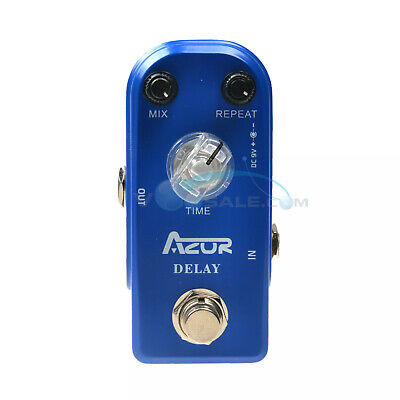 AZOR Delay Pedal Guitar Effect Pedal Mini Size Delay Effect True Bypass AP-306