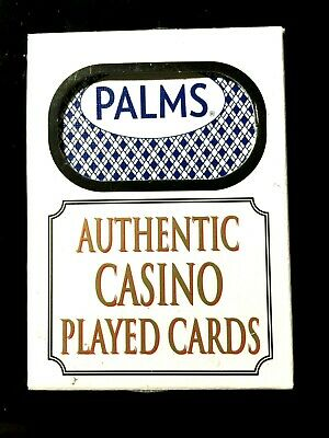 Authentic Las Vegas Nevada The Palms Hotel Casino Playing Cards Deck Poker Mint