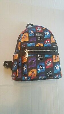 Disney D23 Expo 2019 Dream Store Loungefly Mini Backpack
