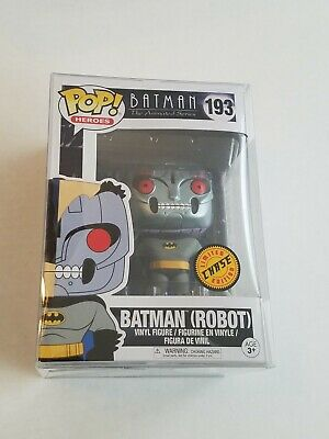 Funko Pop! Batman Animated Batman Robot Chase #193 With Protector
