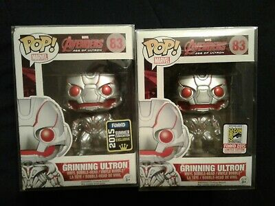 Funko pop Avengers Age of Ultron Grinning Ultron Summer Convention and SDCC