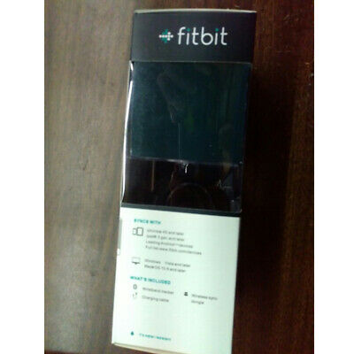 Fitbit Charge HR Wristband Wireless Activity Fitness Tracker Black Small