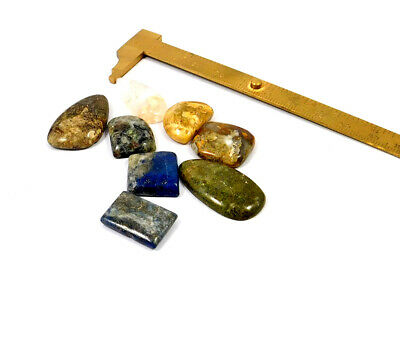 132 Cts. 100% Natural Lot of Multi Mix Stone Cabochon Gemstone SNG22303