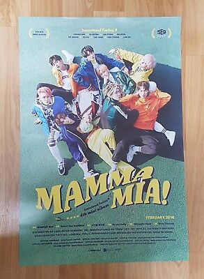 K-POP SF9 4th Mini Album [MAMMA MIA!] OFFICIAL POSTER -NEW-